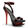 BLONDIE-631-2 Black/Red Patent